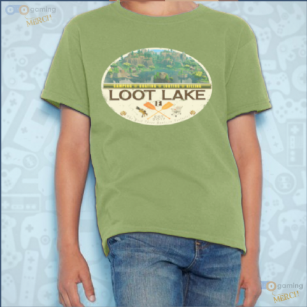Loot Lake Fortnite Kids T-Shirt